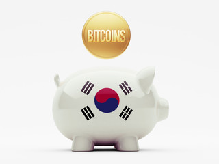 South Korea Piggy Concept