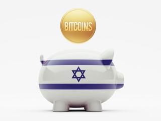 Israel Bitcoin Concept