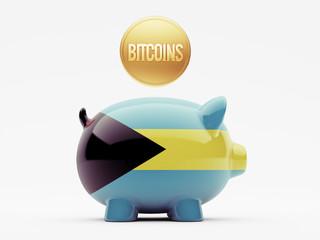 Bahamas. Bitcoin Concept