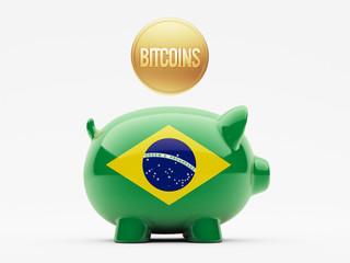 Brazil Bitcoin Concept