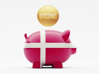 Denmark Bitcoin Concept