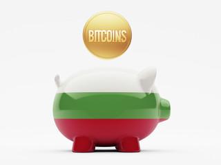 Bulgaria Bitcoin Concept
