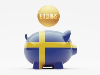 Sweden Bitcoin Concept