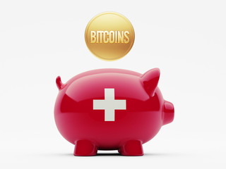 Switzerland Bitcoin Concept