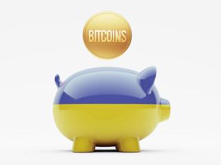 Ukraine Bitcoin Concept