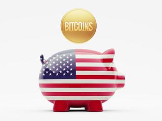 United States Bitcoin Concept