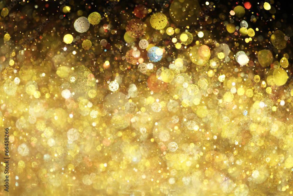 tło błyszczący złoto - powiększenie