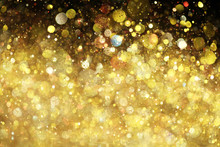 "Постер, картина, фотообои ""Gold glitter"""