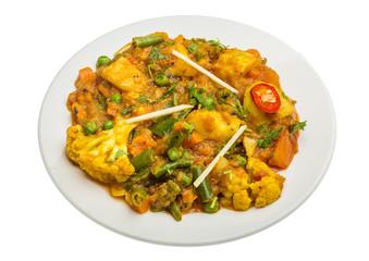 Mix vegetable masala