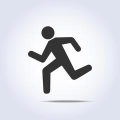 running human icon
