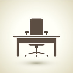 retro style office icon