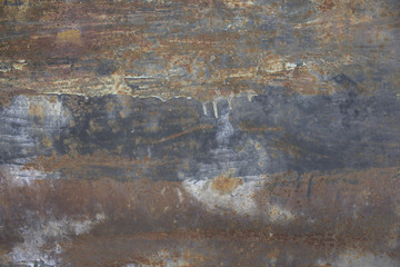 Texture of a rusty surface
