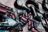 Graffiti détail lettrage