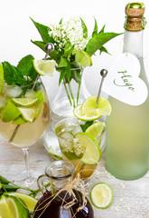 """""""Hugo"""": erfrischender Sommer-Cocktail :)"""