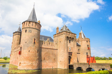Muiderslot, Castle in Muiden, The Netherlands