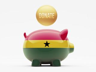 Ghana Donate Concept