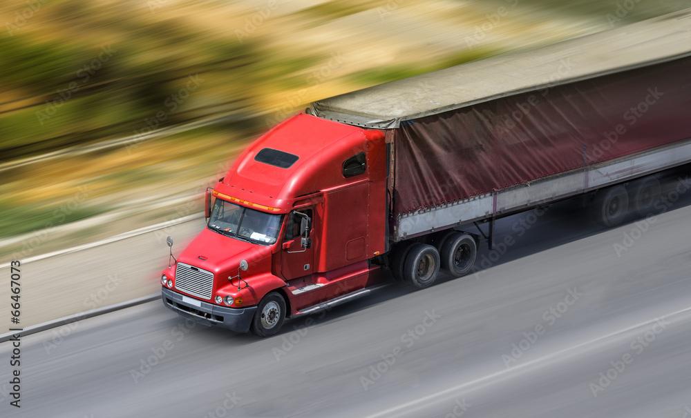 ciężarówki pojemnik biały - powiększenie