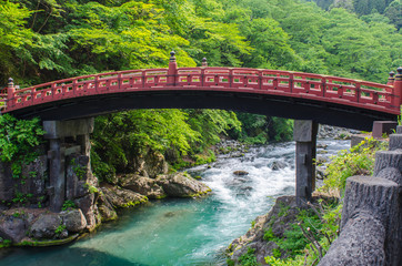 Shinkyo Sacred Bridge in Nikko