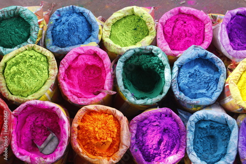Papiers peints Inde bright Indian colors , Jaipur, Rajasthan, India