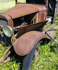 Rusty old Model T