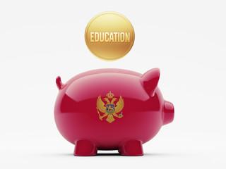 Montenegro. Education Concept