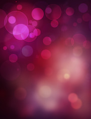 beautiful  purple festive bokeh background