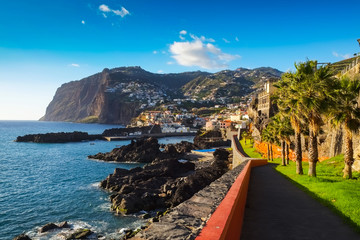 Madeira coastal view, looking South-Central