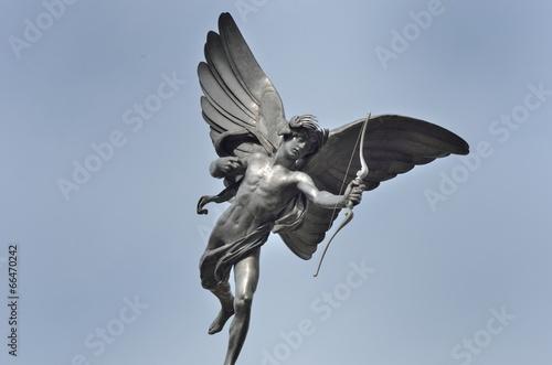 Leinwanddruck Bild Eros Piccadilly Circus