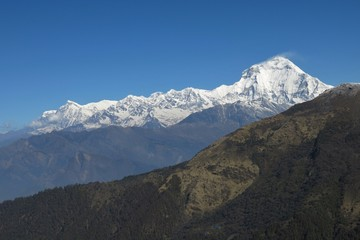 Dhaulagiri, view from Baely