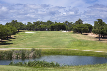 Golf course on Vilamoura, Portugal