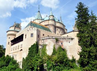 Old castle Bojnice, Slovakia, Europe