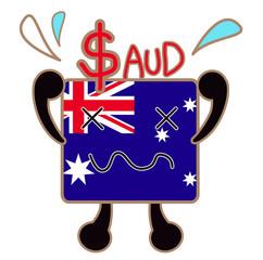 為替レート/オーストラリアドル 危機