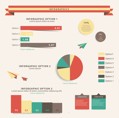 Infographics. Editable diagrams