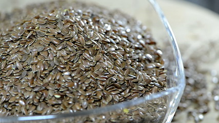 Portion of Flaxseed (loopable)