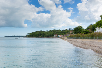 Seagrove Bay near Bembridge Isle of Wight England