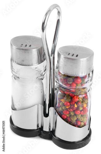 Pepper and salt .