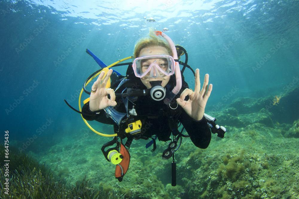 akwalung nurek nurkowanie - powiększenie