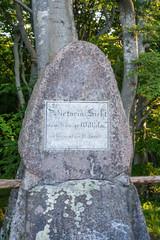 Victoriasicht memorial stone