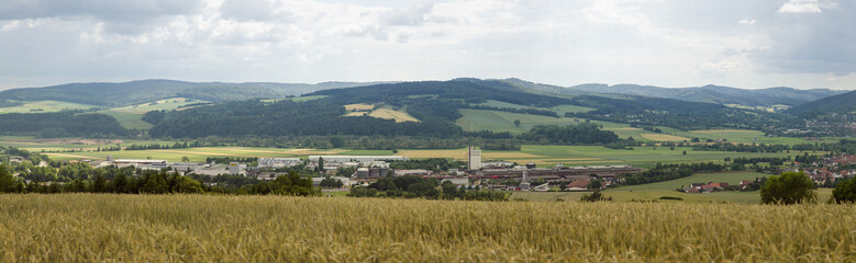 Panorama Bebra Germany