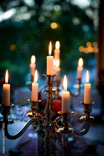 candle light dinner - 66479815
