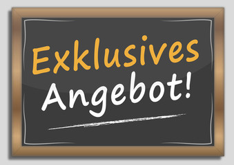 Exklusives Angebot!