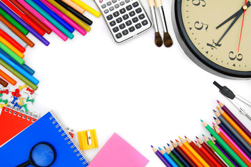 Watch and other school tools