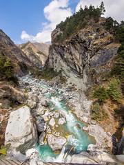 Dramatic Himalayan Landscape, Everest Region, Nepal