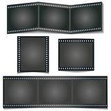 Dia Filmstreifen mit Schatten, set