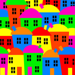 Colourful Village