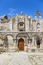 Église St Marziano à Syracuse, Sicile, Italie