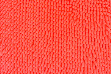 texture of orange doormat