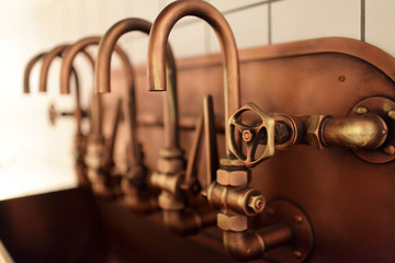 Copper taps