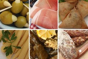 Bar à Tapas : Olives jambon cru  saucisson . . .