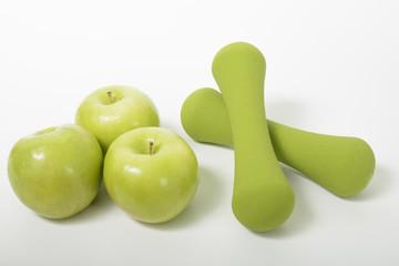 dumbbells fruit